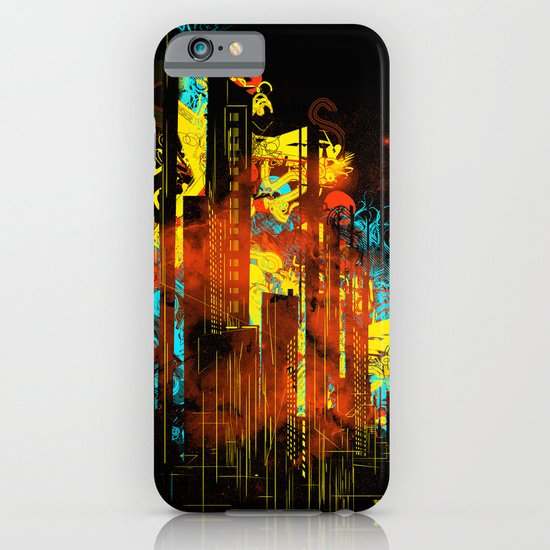 technicity lights iPhone & iPod Case