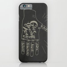 Give Yourself Away - Hand drawn iPhone 6s Slim Case