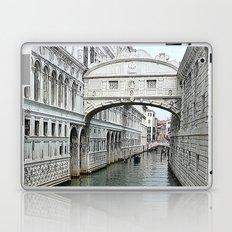 Bridge of sighs in Venice Laptop & iPad Skin