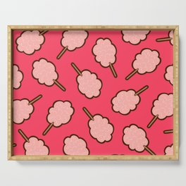 Cotton Candy Pattern Serving Tray