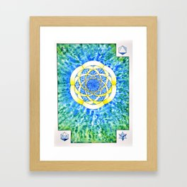 Hexegesis - Study I Framed Art Print