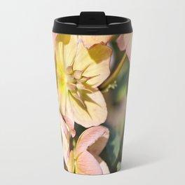 Helleborre pink flowering poisonus plant Travel Mug