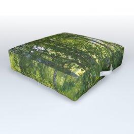 Beautiful Morning Summer Greenery #decor #society6 #buyart Outdoor Floor Cushion