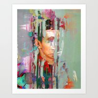tchmo Art Prints featuring Untitled 20140629s by tchmo