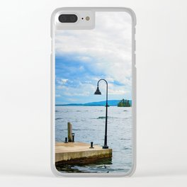 On the Lake Clear iPhone Case