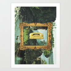would you bite the hand that feeds? Art Print