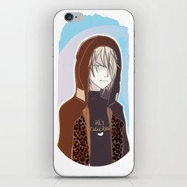Yuri Plisetsky iPhone Skin