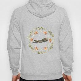 Sea Otter Mandala 1 - Watercolor Hoody