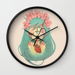 Ofelia's Sacred Heart Wall Clock