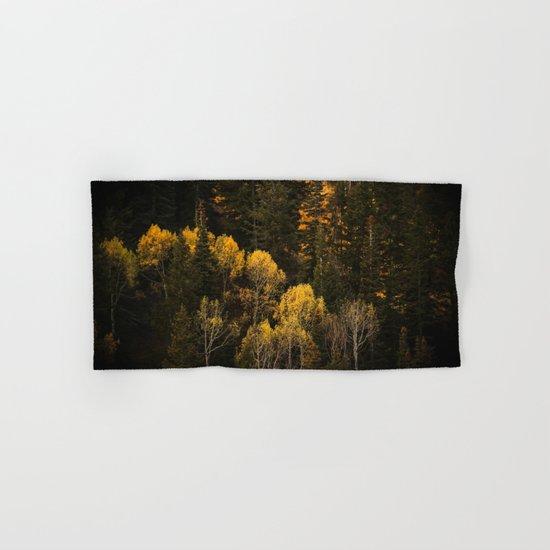 Autumn Trees Hand & Bath Towel
