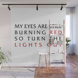 Lights Out Wall Mural