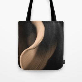 Leek on Black 2 Tote Bag