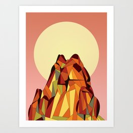 TOUCHING THE VOID Art Print