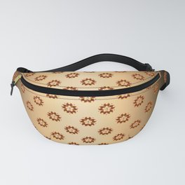 Traditional Japanese pattern FUNDO Fanny Pack