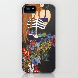 Fast food flowers  iPhone Case