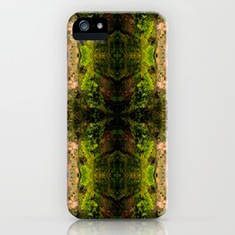 Radiant green iPhone Case