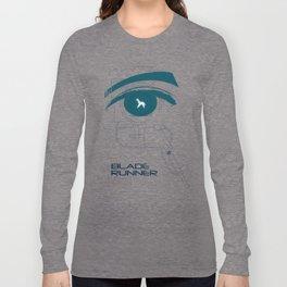 BLADE RUNNER (White - Voight Kampf Test Version) Long Sleeve T-shirt