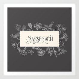 Sassenach Art Print