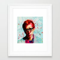 woody Framed Art Prints featuring Woody by benjamin james