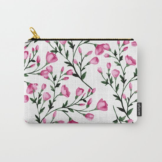 Blossoming branches Carry-All Pouch