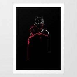 Devil's Heartbeat Art Print