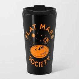 Flat mars society Travel Mug
