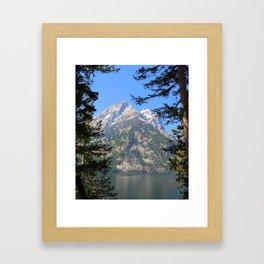 Centering Oneself Framed Art Print
