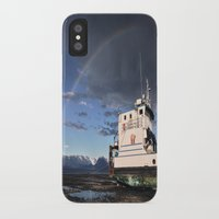 homer iPhone & iPod Cases featuring Homer, Alaska by Chris Rod