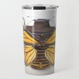 Ladybug Butterfly Travel Mug