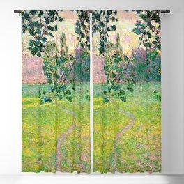 """Claude Monet """"Paysage de matin"""" (1888) Blackout Curtain"""