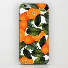 The Forbidden Orange #society6 #decor #buyart iPhone Skin