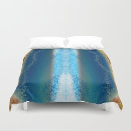 Abstract Seascape 01 w Duvet Cover