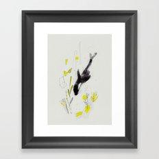 Blackfish Framed Art Print