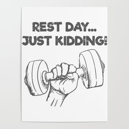 Fitness Quotes Posters   Society6