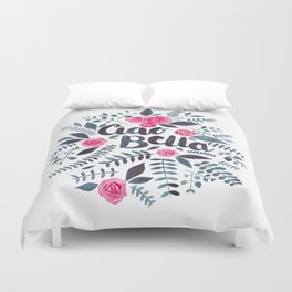 Ciao Bella Duvet Cover