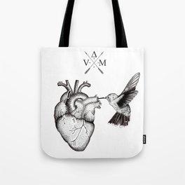 Humming Heart Tote Bag