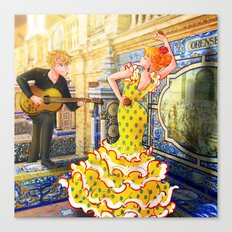 Spain Travel Canvas Print