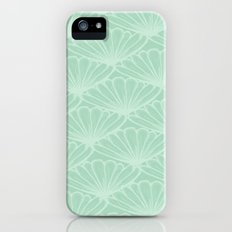 Lady in Mint Slim Case iPhone (5, 5s)