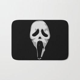 silent scream - charlie chaplin Bath Mat