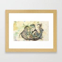 Clace Framed Art Print