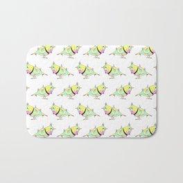 Neon Bird Bath Mat