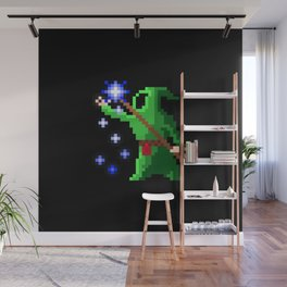 wizard green Wall Mural
