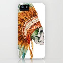 Skull 03 iPhone Case