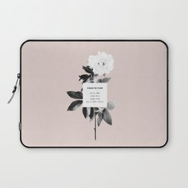 Como Se Flor Laptop Sleeve