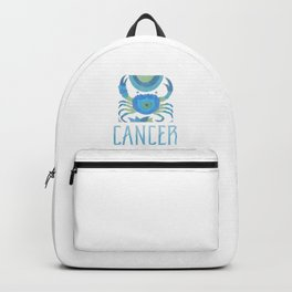 Cancer - water sign Backpack