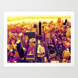 Color The City Art Print