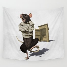 Shithouse (Wordless) Wall Tapestry
