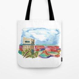 south rim // arizona landscape watercolor Tote Bag