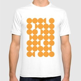 Orange dots T-shirt