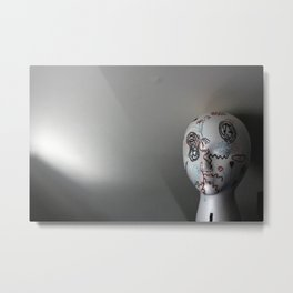 art head Metal Print